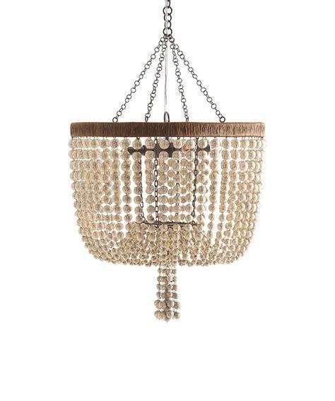 beaded chandelier arteriors viola 4l iron ivory beaded chandelier lighting