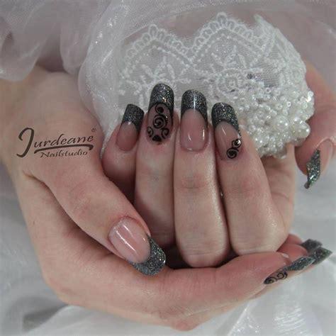 Zwarte Acryl Nagels by 25 Beste Idee 235 N Zwarte Acryl Nagels Op