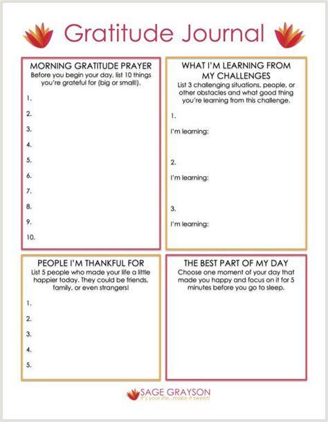 Free Printable Gratitude Journal Self Help Psychology Tips For Managing Your Mental Health Gratitude Journal Template
