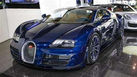 unique blue carbon bugatti veyron sport sold in