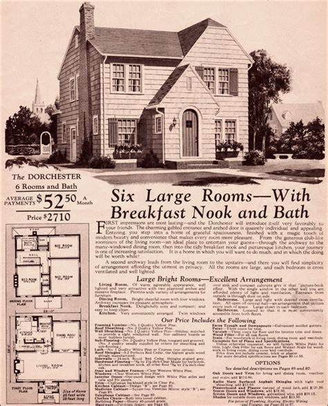 montgomery ward house plans c 1930 montgomery ward dorchester wardway kit house two story european eclectic