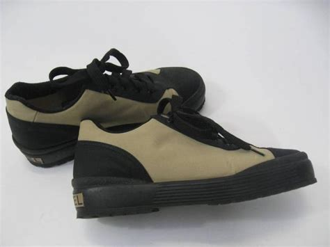 chanel athletic shoes chanel black and white athletic shoes for sale at 1stdibs