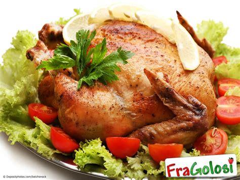 cucinare pollo intero al forno pollo al forno ricetta di fragolosi