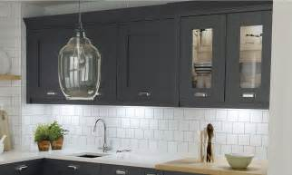 Paint Your Own Kitchen Cabinets Milbourne Charcoal Bespoke Fitted Kitchens Wigan