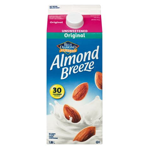 From The Supermarket Almond by Unsweetened Original Almond