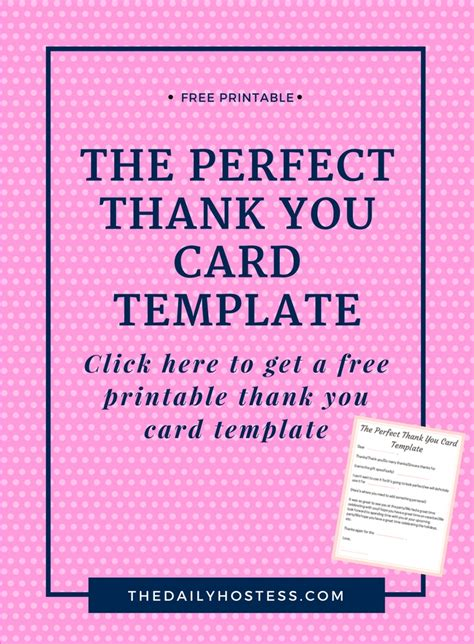 Interest Card Template by A Step By Step Guide To Writing The Thank You Card