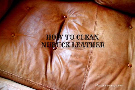 Cleaning Nubuck Leather Sofa cleaning suede furniture househoneys