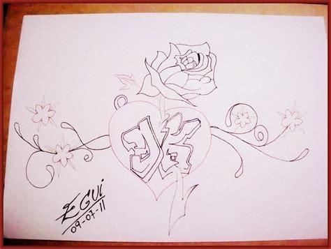 imagenes para dibujar a lapiz de corazones con alas imagenes de corazones para dibujar a lapiz faciles