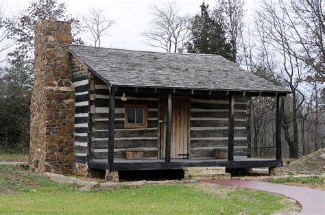 1818 log cabin built in illinois photograph by wanda brandon