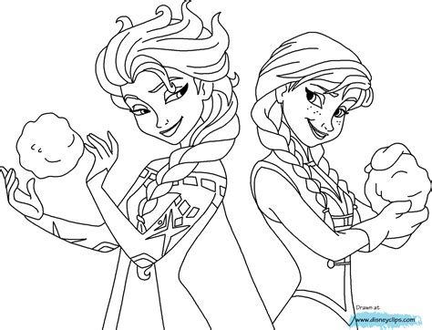 elsa and anna halloween coloring pages frozen elsa and anna movie night pinterest frozen