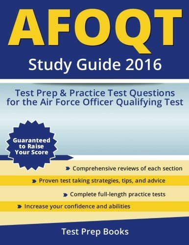 Air Officer Qualifying Test by Read Afoqt Study Guide 2016 Test Prep