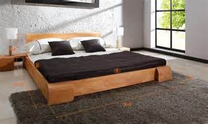 lit en bois moderne pour adulte lit en bois massif tokyo chambre coucher design en bois massif