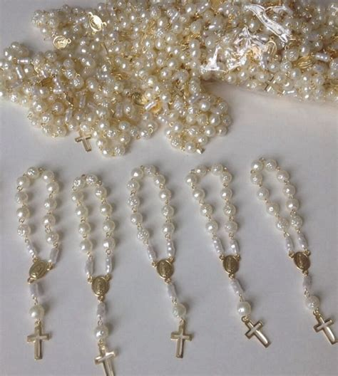 Giveaways For Baptism - mini rosaries baptism favors baptism pinterest