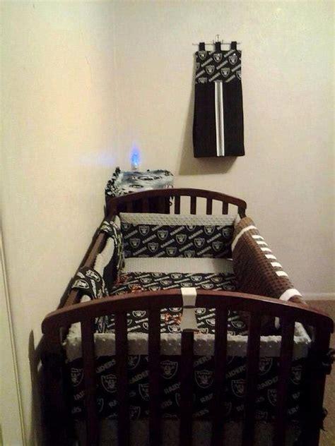 raiders bedding raiders crib bedding and etsy on pinterest