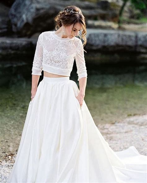 Wedding Skirt by 30 Effortlessly Chic Wedding Dresses With Pockets