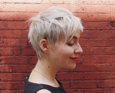 playful shag haircut for over 40 45 playful ideas for short shag haircuts change the