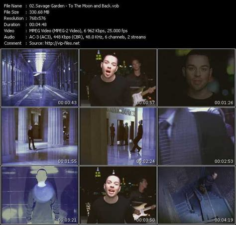 To The Moon And Back Savage Garden - savage garden the collection vobs savage garden