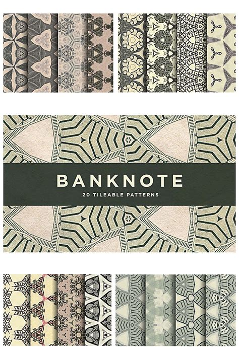 pattern on banknotes dollar banknote pattern set free download