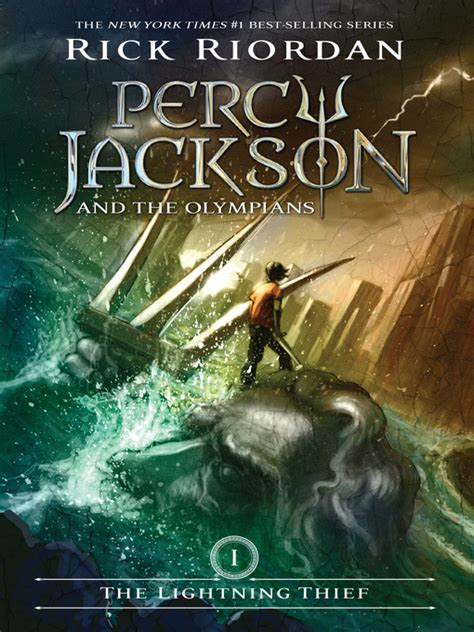 percy jackson the lightning thief book report percy jackson series now available for digital checkout