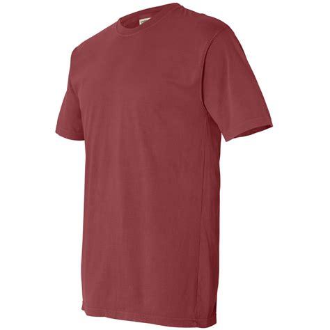 comfort colors brick comfort colors 4017 garment dyed lightweight ringspun