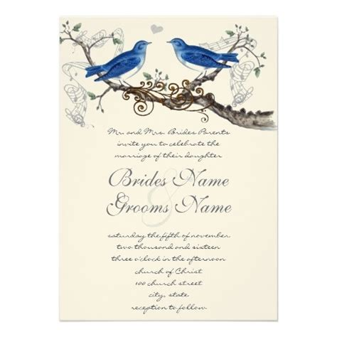 Bird Wedding Invitations 117 best images about birds wedding invitations