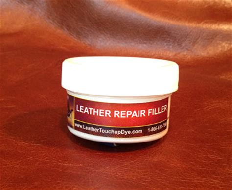 Leather Repair by Leather Repair Filler Kit Leathertouchupdye