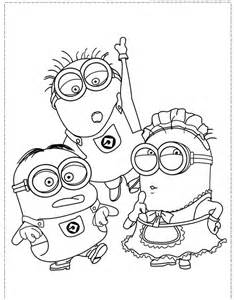 free coloring pages book for boys the minion character and boy coloring pages