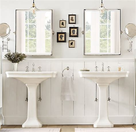 fabulous restoration hardware mirrors decorating ideas 26 best pedestal sinks images on pinterest bathroom