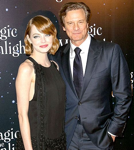 emma stone colin firth emma stone works 20s inspired style at paris premiere