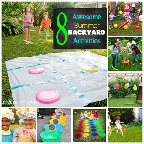 backyard activities for kids real fun features 16 the real thing with the coake family
