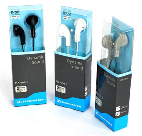Sennheiser Mx 400 Ii Original sennheiser mx 400 ii in ear headphone dynamic sound gray jakartanotebook