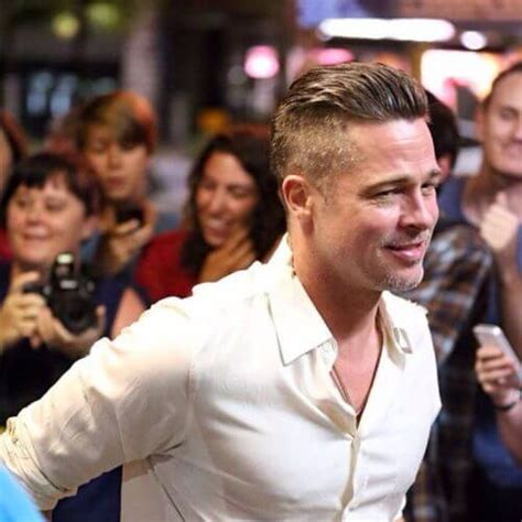 Brad Pitt New Hairstyle by 25 Easy To Pull Brad Pitt Haircut Ideas