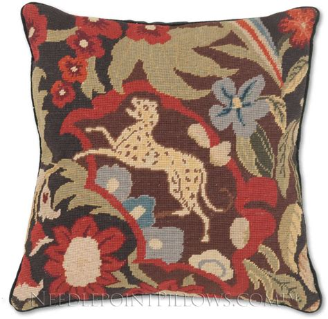 Needlepoint Pillow by Tapestry Ii Needlepoint Pillow Floral Pillows