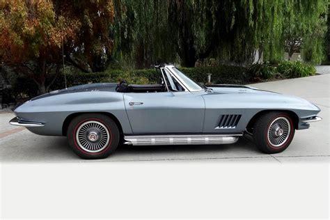 1967 corvette stingray convertible 1967 chevrolet corvette 427 435 stingray convertible 186348