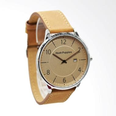 Jam Tangan Wanita Pria Hush Puppies Leather Lig Murah 1 jual hush puppies analog jam tangan pria brown hp 5015m 2519 harga kualitas