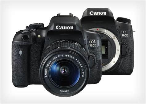 Kamera Canon Dslr Untuk Pemula canon 750d dan 760d kamera dslr canggih untuk pemula