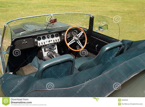 convertible sports set of convertible sports cars jaguar e type stock image