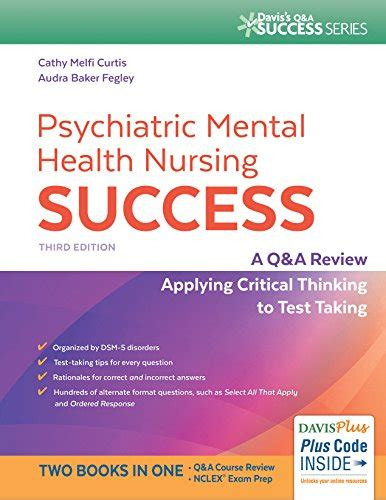 psychiatric mental health nursing books 803660405 psychiatric mental health nursing success a q