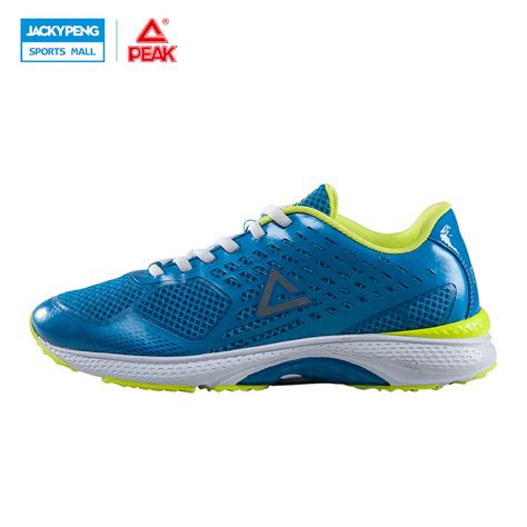 flat footed running shoes peak 2017 professional blue running shoes for flat