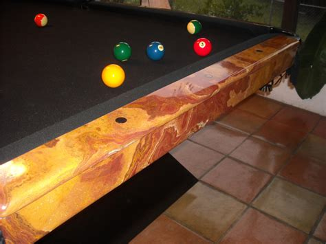 Marble Pool Table by Marble Pool Tables Dining Room Pool Tables