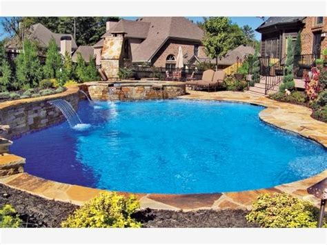 free form pool designs pin by home and garden design ideas on outdoor spaces we