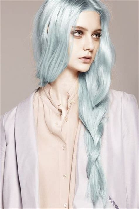silver blue long hair pictures photos and images for facebook silver grey hair fashion dip dye hair coloring