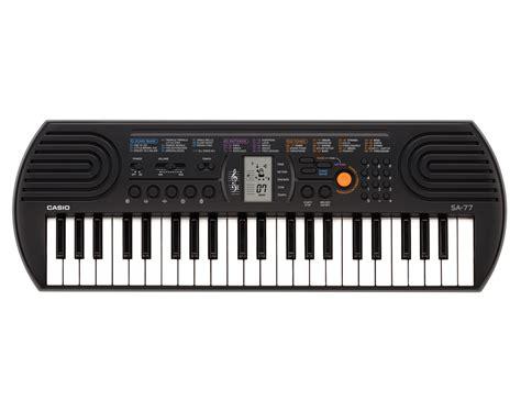 Keyboard Casio Mini casio sa 77 mini keyboard grey color casio lab