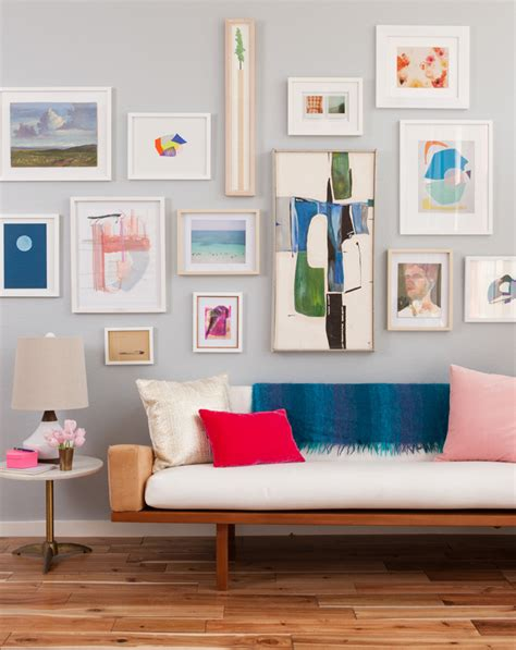 how to hang art on wall 8 tips for hanging art a cup of jo