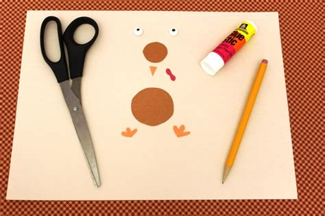 How To Make A Turkey With Construction Paper - thanksgiving craft idea for sunflower turkeys