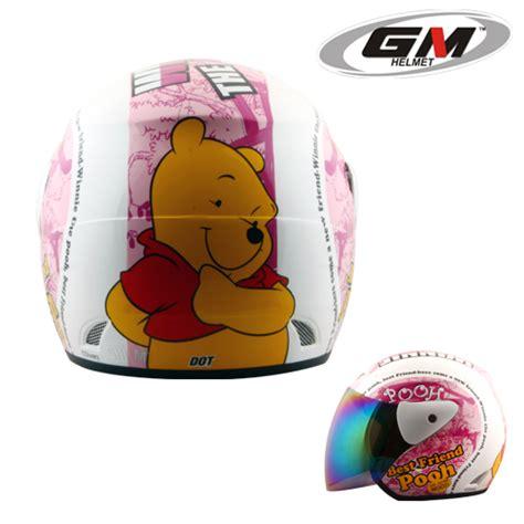 Helm Gm Evolution Solid Pink helm gm evolution the pooh seri 9 pabrikhelm jual