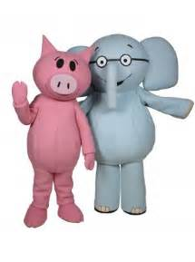 elephant and piggie character visit costume mo