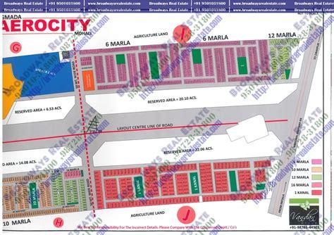 layout plan of mohali gmada aerocity site layout gmada aerocity plots mohali