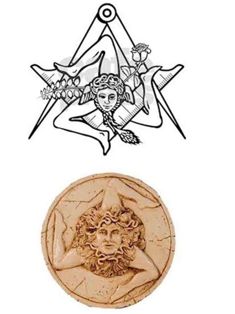 sicilian symbols tattoos 11 best trinacria images on ideas ink