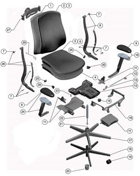 herman miller celle chair parts authorized retailer